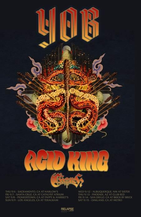 YOB / Acid King / CHRCH