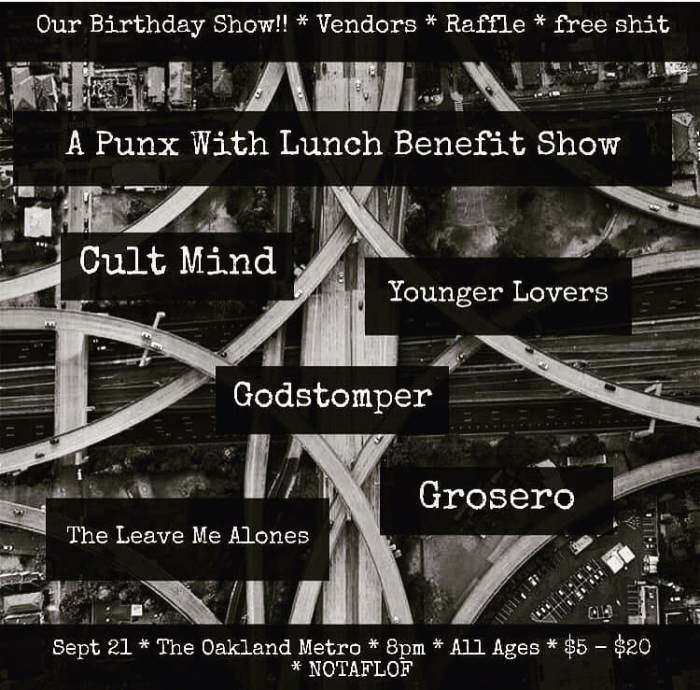 Punks with Lunch Turns 4!