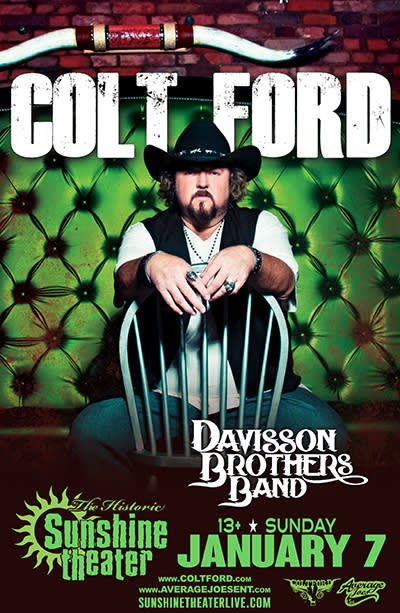 Colt Ford * Davisson Brothers Band