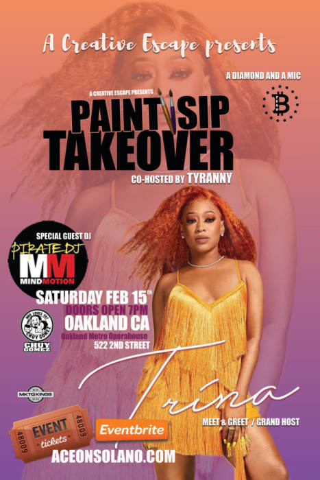 Paint & Sip TAKEOVER -