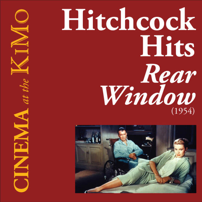 Rear window 1954 hitchcock hits kimo theatre for 1954 rear window
