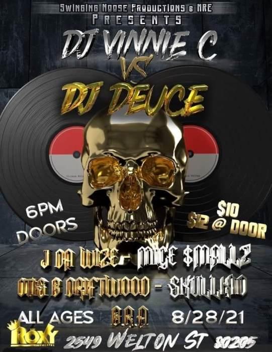 DJ Vinnie C VS. DJ Deuce