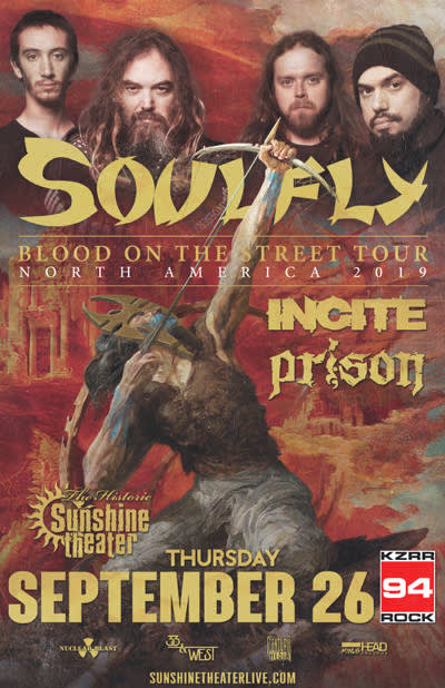 Soulfly - Blood On The Street Tour