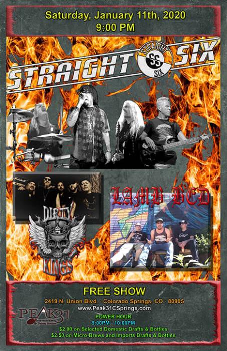 Straight Six / Dirty Kings / Lamb Bed