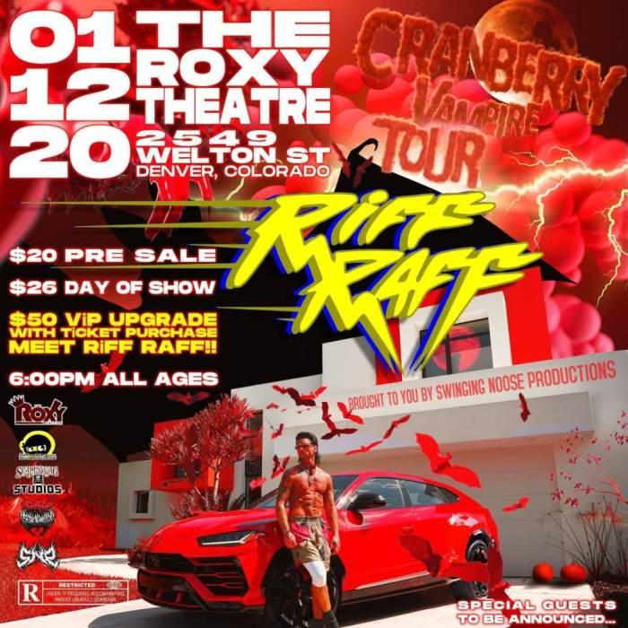 The Cranberry Vampire Tour