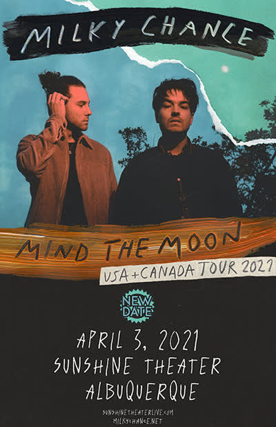 Milky Chance - Mind The Moon Tour 2021