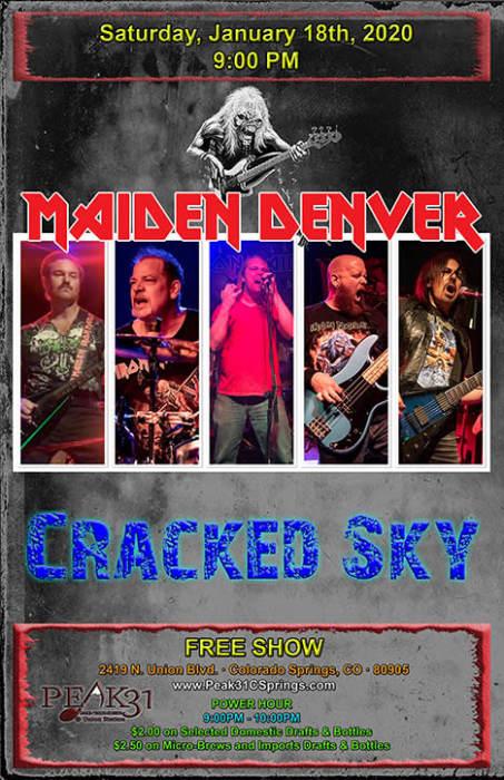 Maiden Denver / Cracked Sky