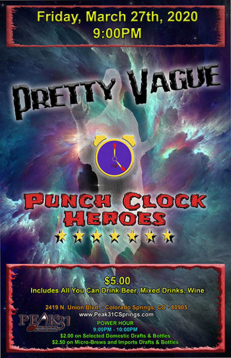 Pretty Vague / Punch Clock Heroes