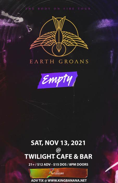 EARTH GROANS,