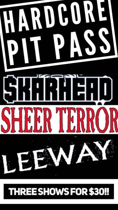 Hardcore Pit Pass Ticket