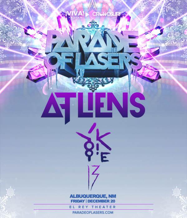 Parade of Lasers 2019 (Albuquerque, NM)
