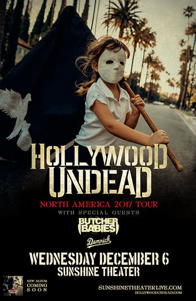 Hollywood Undead * Butcher Babies * Demrick