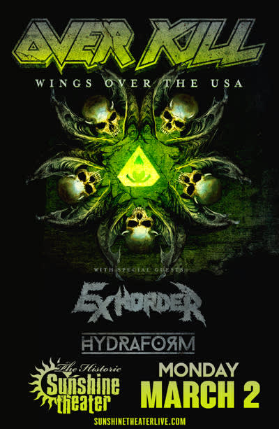 OVERKILL - Wings Over The USA Tour
