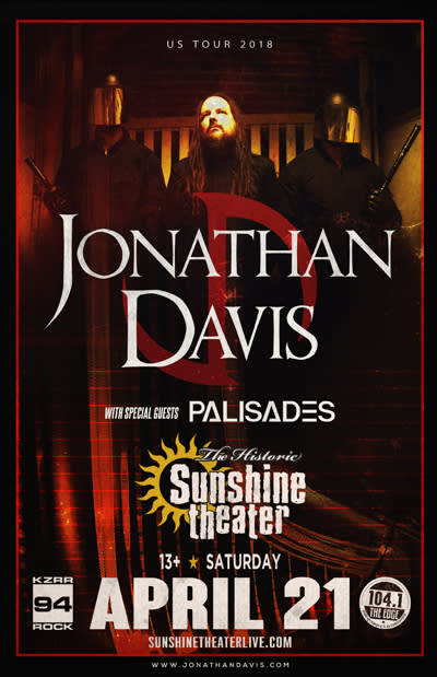Jonathan Davis * Palisades