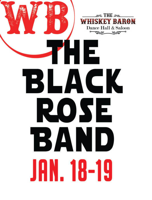 Black Rose Band Line Dance Lessons 6-8pm @ Whiskey Baron