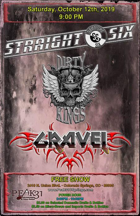 Straight Six / Dirty Kings / Gravel