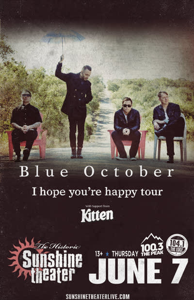 Blue October * Kitten