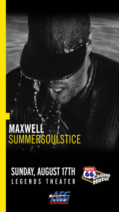 Maxwell legends theater route 66 casino august 17