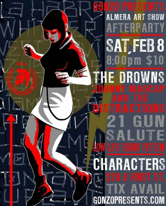 The Drowns,Johnny Madcap & The Distractions