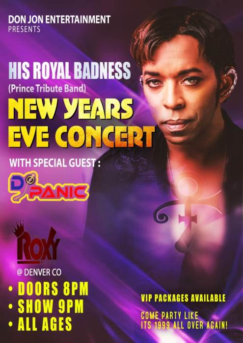 His Royal Badness New Years Eve Party