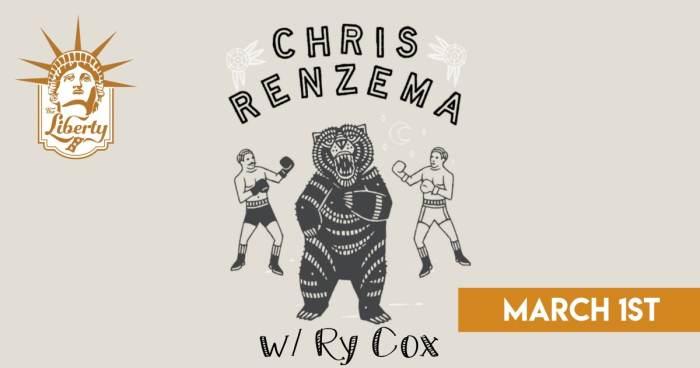 Chris Renzema w/ Ry Cox