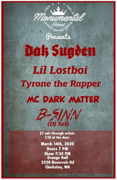 Dak Sugden/Little Lostboi/B-SINN