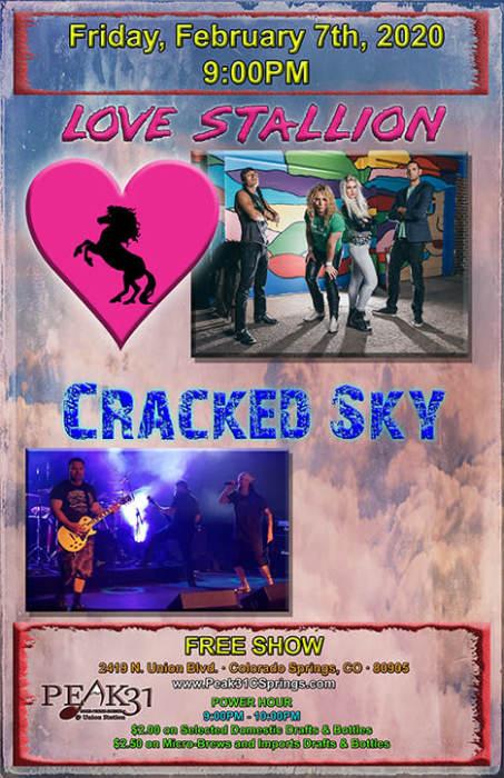 Love Stallion / Cracked Sky