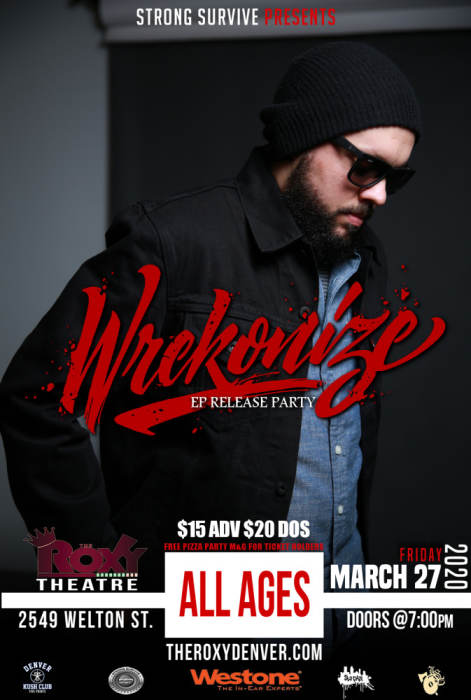 """Wrekonize from ¡MAYDAY! """"EP Release Party"""