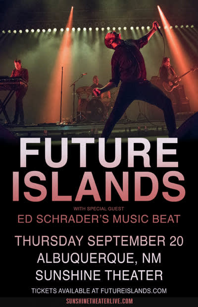Future Islands * Ed Schraders Music Beat