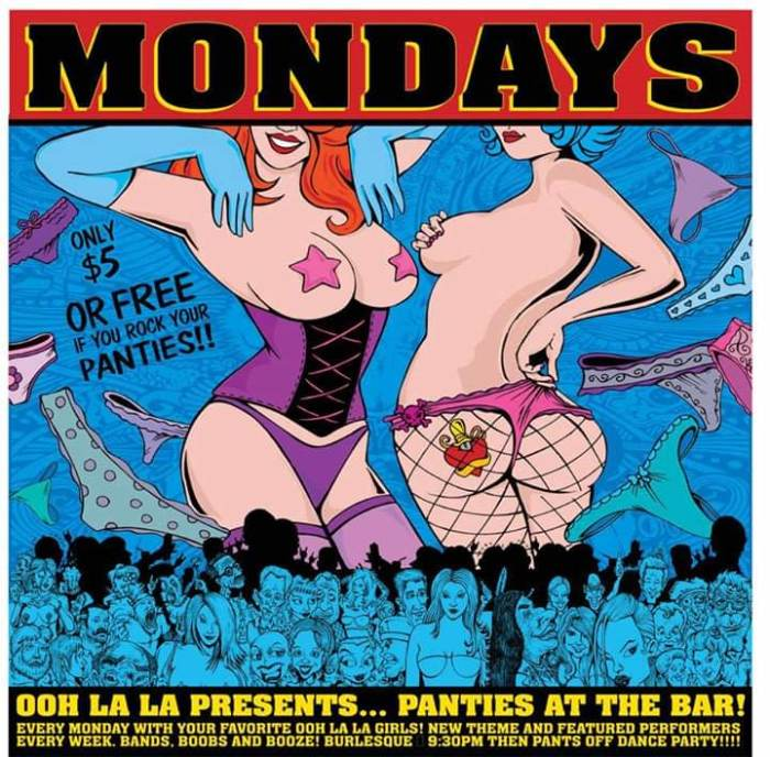 OOH LA LA PRESENTS: PANTIES AT THE BAR