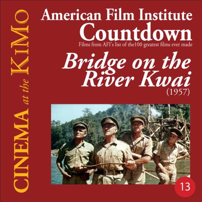 Bridge On The River Kwai 1957 American Film Institute Countdown