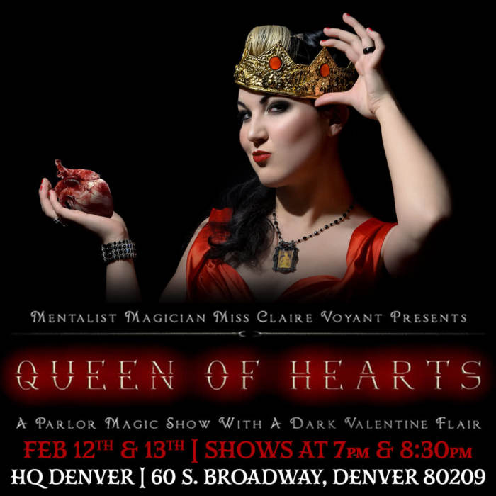 Queen Of Hearts:  A Dark Valentines Magic Show