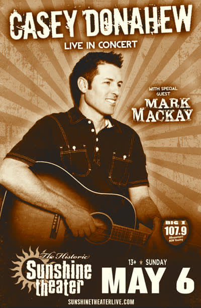 Casey Donahew * Mark Mackay