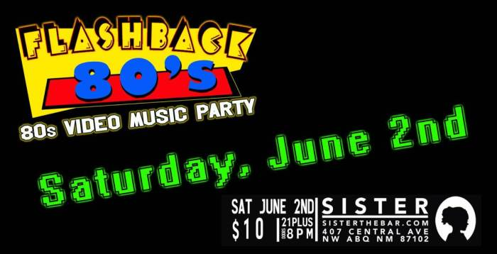 Flashback 80s Dance Party