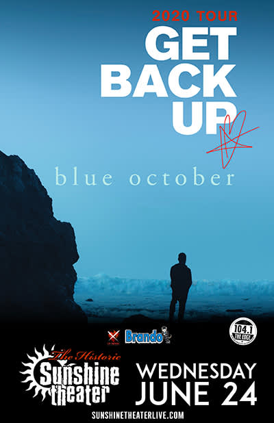 Blue October - Get Back Up Tour