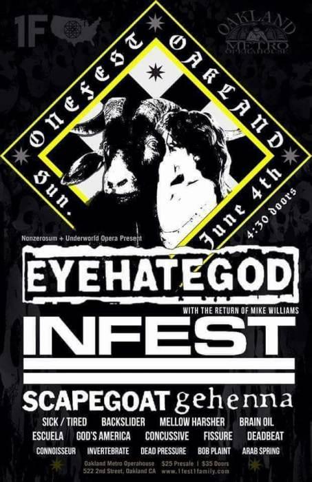 EYEHATEGOD / INFEST