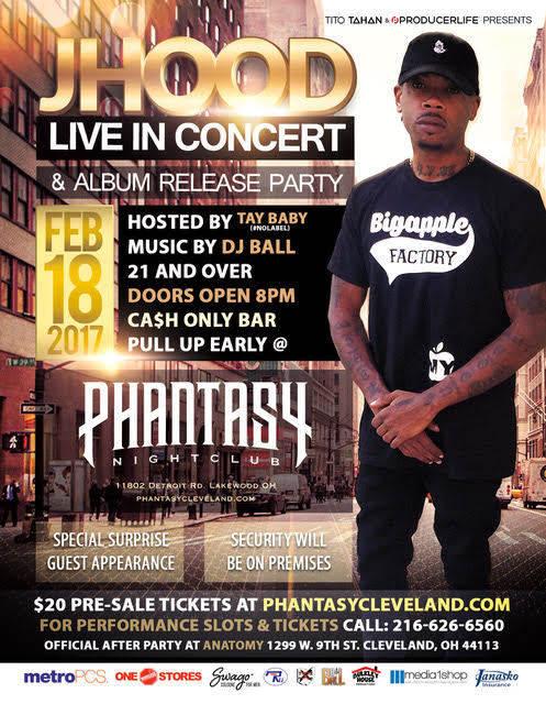 J Hood Live The Phantasy Concert Club The Phantasy Night Club