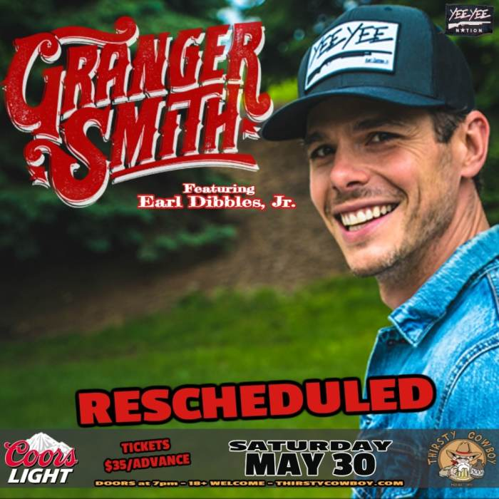 Granger Smith feat. Earl Dibbles, Jr.  w/Tyler Braden