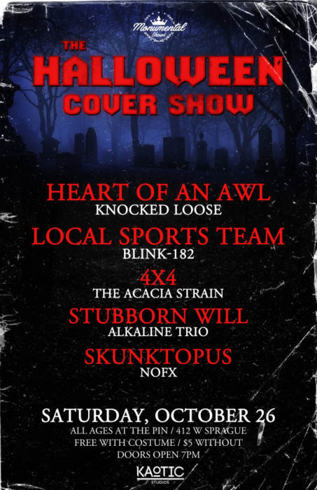 The Halloween Cover Show