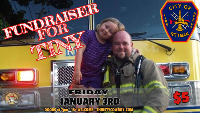 Mike Riding: Fundraiser