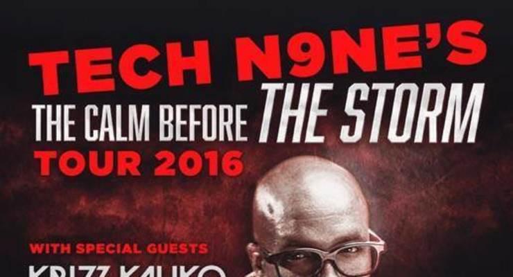 TECH N9NE, CALM BEFORE THE STORM TOUR