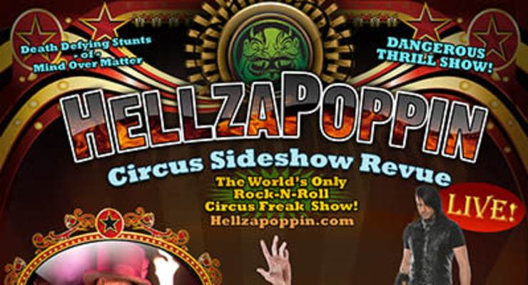Hellzapoppin Circus Sideshow Revue *** NEW DATE ***