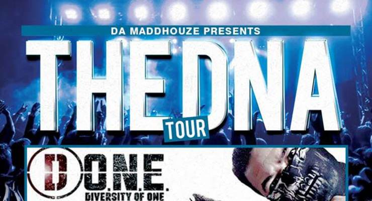 The DNA Tour: D-O.N.E. with special guest; Mizere and Kurt Brodie