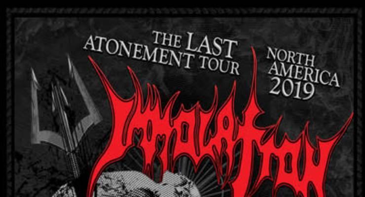 Immolation - The Last Atonement Tour