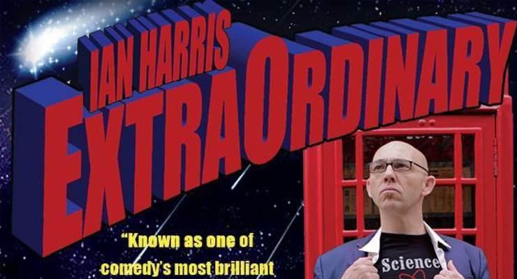 Ian Harris ExtraOrdinary Comes to Santa Fe!