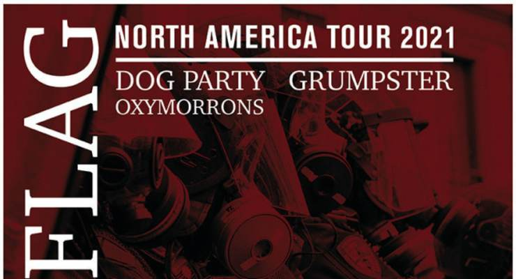 Anti-Flag * Dog Party * Grumpster * Oxymorrons
