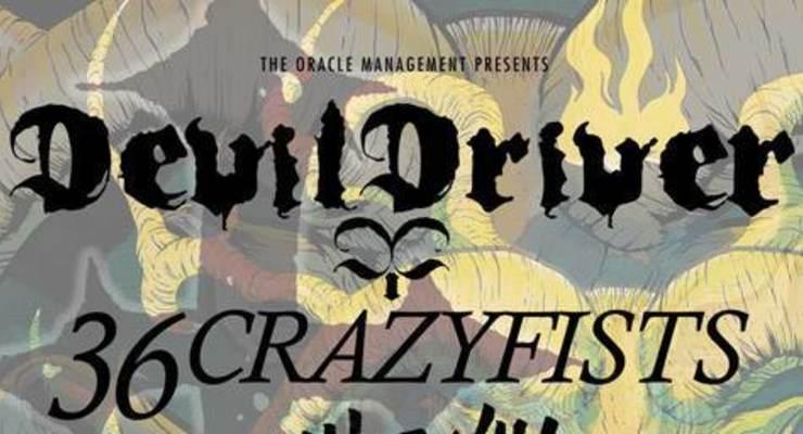 DEVILDRIVER + 36 CRAZY FISTS