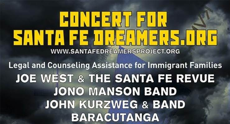 Benefit Concert for Santa Fe Dreamers Project