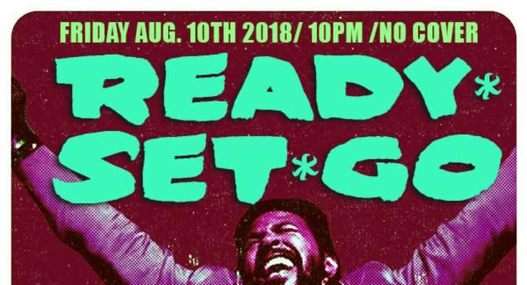 READY SET GO featuring DJ AKA MIGGY