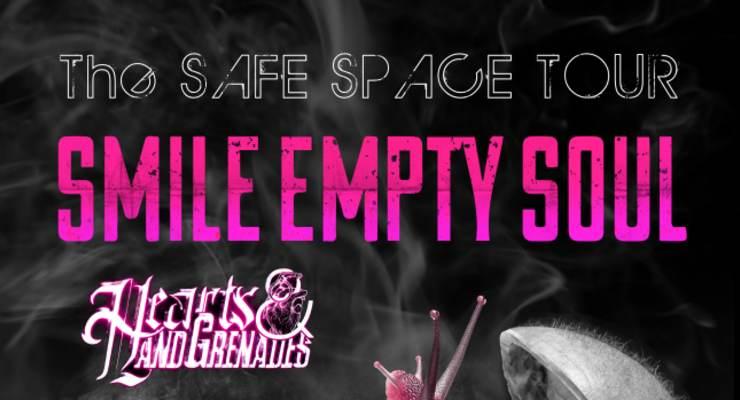 Smile Empty Soul * Hearts & Hand Grenades